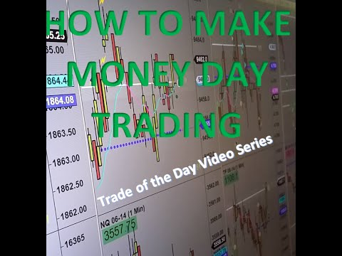 Trade of the Day 4-2: How to Make Money Day Trading