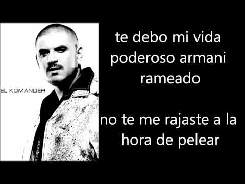 El Komander Cuernito Armani Lyrics