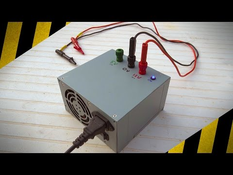 comment demarrer alimentation pc