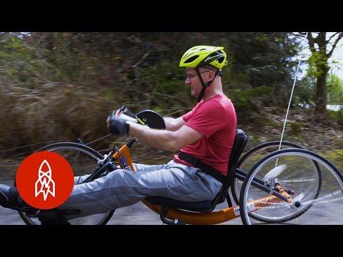Paralyzed Cyclist Aims for a Million Miles