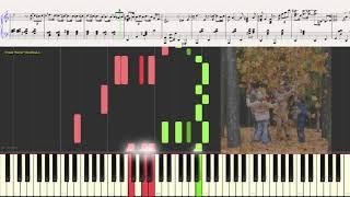 Вальc - Бостон (Джаз вариация) (Ноты и Видеоурок для фортепиано) (piano cover)