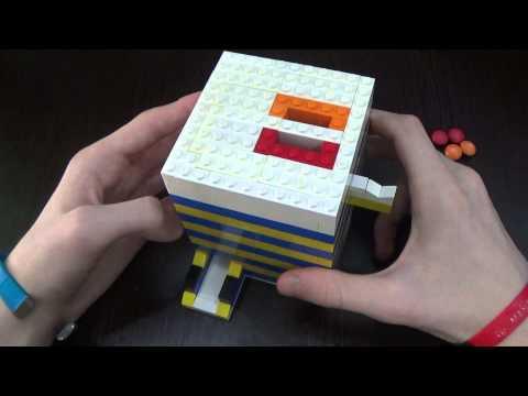 Как сделать из лего аппарат