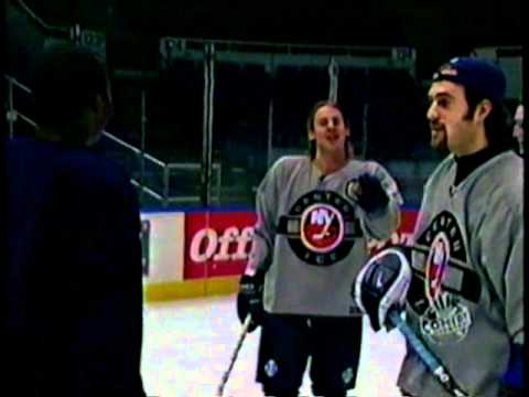 NY Islanders Comedy Tryout at the Coliseum