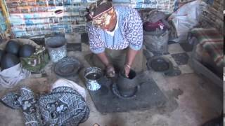 South Sotho pot making documents the time-honored process by Lenky Nhlapo, a South Sotho ceramic artist living in South Africa ...