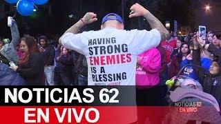 Nueva vigilia en menoría del rapero Nipsey Hussle. – Noticias 62. - Thumbnail