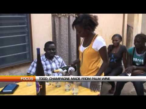 Togo: Champagne made from palm wine