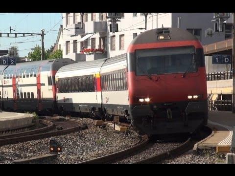 SBB Intercity in Wil – IC 2000 – Zug, trainfart, train