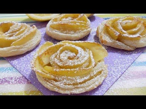 video ricetta - rose di pasta sfoglia