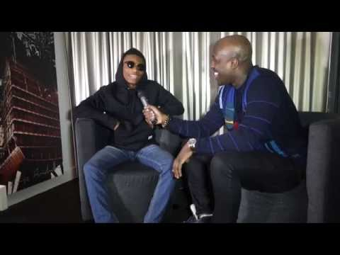 WIZKID VISITS AMSTERDAM AND TALKS INSPIRATION!!