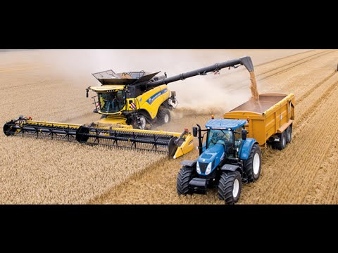 New Holland CR10.90 combine Guinness World Records
