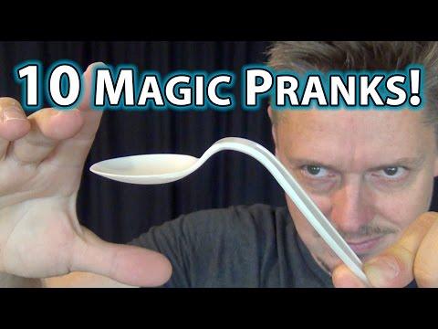 10 MAGIC PRANKS!!  - How to do tricks you can do NOW!