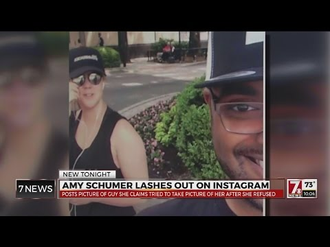 Man Defends Selfie After Amy Schumer's Instagram Blast