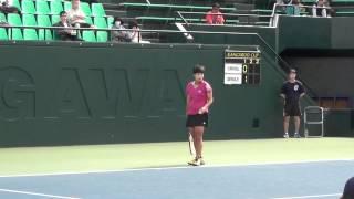 Luksika KUMKHUM Thailand tennis player ลักษิกา คำขำ
