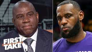 LeBron is right, 'I could have done it a different way' – Magic on suddenly resigning | First Take