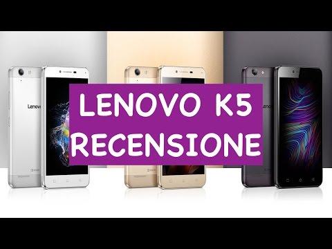 Lenovo K5: Unboxing e Recensione