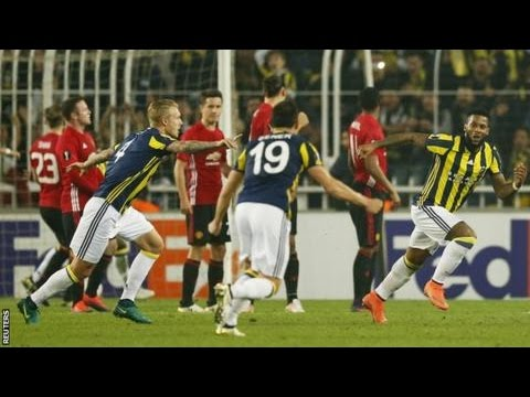 Man United vs Fenerbahce 1-2 Extended Highlights Europa League 2016