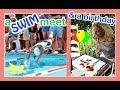 Download Video A SWIM MEET ON MOM'S BIRTHDAY | Flippin' Katie