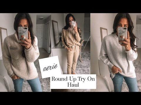Aerie Round-Up Try-On Haul