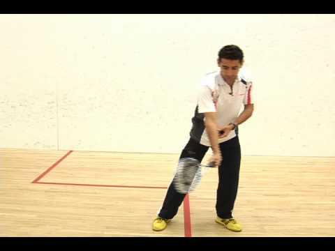Razik's Squash Quick Tips 3 (Forehand)