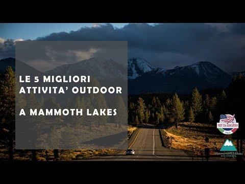 Video LE MIGLIORI COSE DA VEDERE A MAMMOTH LAKE ALL'ARIA APERTA (29-4-2021)