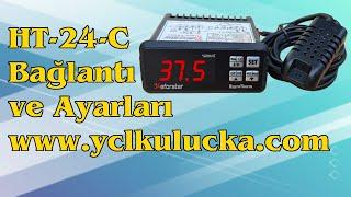 Eforstar Ht-24-c Higroterm elektrik bağlantısı ve ayarları