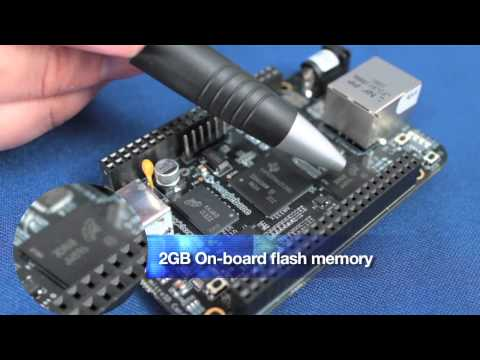 Mouser Electronics — First Look at the BeagleBone Black!