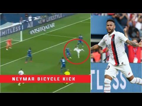 Goal NEYMAR JR 90' +2   Paris Saint Germain   RC Strasbourg Alsace  1 0 PARIS RCSA   2019 20