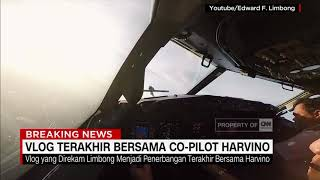 Video Vlog Terakhir bersama Co-Pilot Harvino. Tragedi Lion AIr JT 610 MP3, 3GP, MP4, WEBM, AVI, FLV Desember 2018
