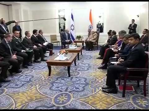Netanyahu - The Prime Minister of Israel, Mr. Benjamin Netanyahu meeting the Prime Minister, Shri Narendra Modi, in New York on September 28, 2014. The two leaders reviewed the robust relationship, and...