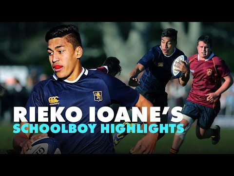 Schoolboy Rieko Ioane Just 3 Years Before Becoming An All Black | Rugby Highlights | RugbyPass