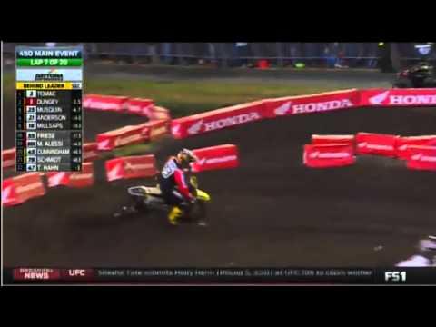 2016 AMA Supercross rd9 450 Main Event (Full Race)