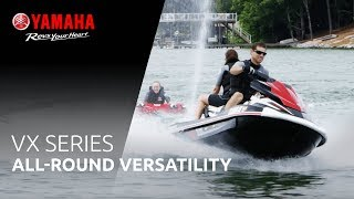 2. 2018 Yamaha VX line up – Get the most out of your weekends with the VX models
