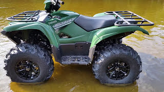 9. 2016 Yamaha Grizzly 700 moded with 27
