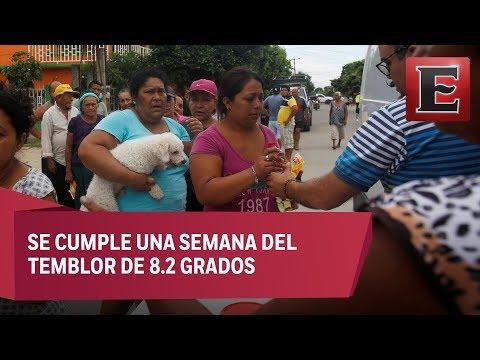 Fluye ayuda en Oaxaca para afectados por sismo