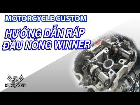 Video 111: Dạy sửa xe hướng dẫn ráp đầu nòng Honda winner 150. - Thời lượng: 19 phút.