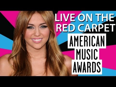 AMA 2010 Interview Miley Cyrus