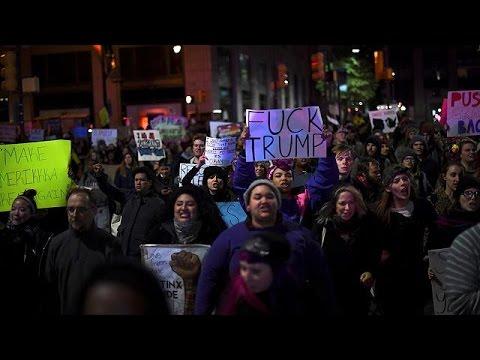 ΗΠΑ: Τρίτη νύχτα διαδηλώσεων κατά του Ντόναλντ Τραμπ