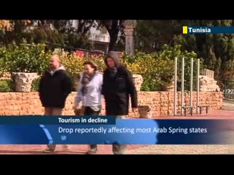 Tunisia tourism hit by Arab Spring unrest: anti-Islamist protests scaring foreign guests away