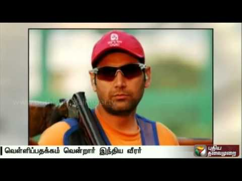 Mairaj-wins-Indias-first-skeet-medal-at-a-shooting-World-Cup
