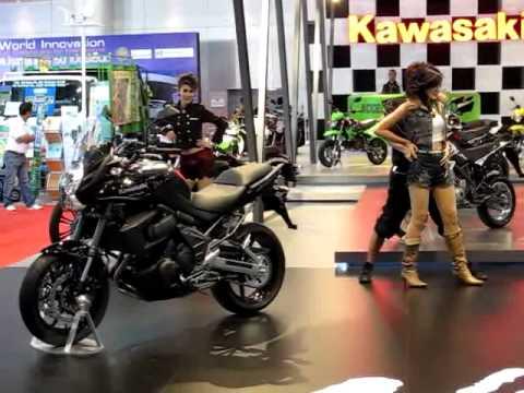 คาวาซากิ - The 32nd Bangkok International Motor Show งานบางกอก อินเตอร์เนชั่นแนล มอเตอร์โชว์ ครั้งที่ 32 เมืองทองธานี Motor Show 2011 Highlights...