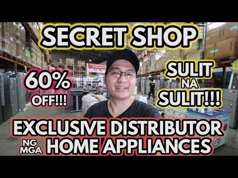 SECRET SHOP | ng mga Distributors Appliance Warehouse Sale | TRENDING