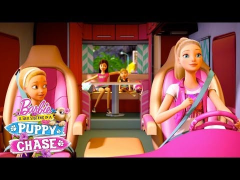 The Chase Is On! | Barbie & Her Sisters in a Puppy Chase | Barbie