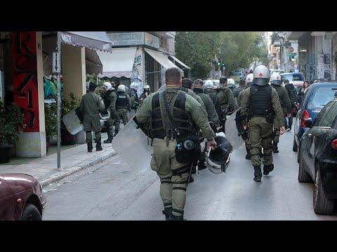 Εξάρχεια: Νέα επιχείρηση της αστυνομίας σε υπό κατάληψη κτίρια…