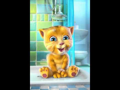 Talking Ginger sings Mobinil song Arabic (видео)