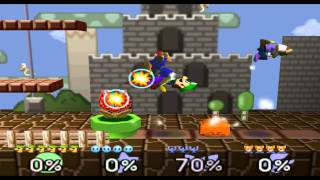 To help get your mind off of Sm4sh, here's a fun TAS vid of Smash 64. Luigi destroying three Lv. 9s