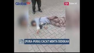 Video Viral!! Wanita Pengemis Diamankan Lantaran Berpura-pura Cacat & Mengesot Untuk Mengemis - BIS 12/06 MP3, 3GP, MP4, WEBM, AVI, FLV Desember 2017