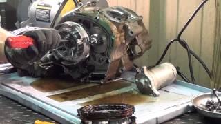 7. 2001 Yamaha TTR 125 - Clutch Removal