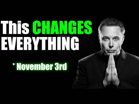 WHY TESLA WILL BE CHANGED FOREVER ON NOVEMBER 3