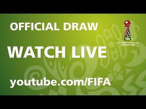 REPLAY: FIFA U-17 Women's World Cup Jordan 2016 – Official Draw