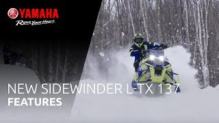 1. 2019 Yamaha Sidewinder L-TX LE 137 – Yet another exciting partner for the trail